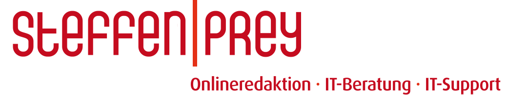 Steffen Prey | Onlineredaktion | IT-Beratung | IT-Support